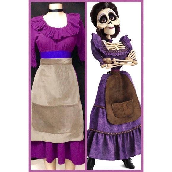 42fad21e83b03 NEW- MAMA IMELDA COSTUME FROM COCO THE MOVIE - Boutique
